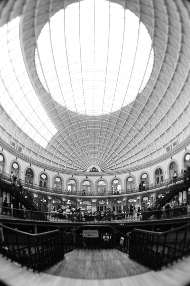 Leeds Corn Exchange Fisheye Photo