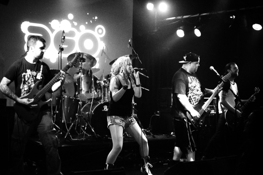 P{ulverize band at the 360 Club in Leeds